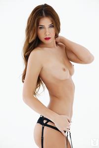 Damn Hot Cybergirl Kelsey Ann Red Lipstick 10