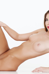Damn Hot Cybergirl Kelsey Ann Red Lipstick 13