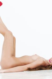 Damn Hot Cybergirl Kelsey Ann Red Lipstick 14