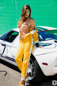 Playboy Playmate Alyssa Arce Hot And Free 02