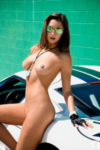 Playboy Playmate Alyssa Arce Hot And Free 08