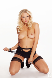 Playmate Irina Voronina Is The Center Of Attention 11