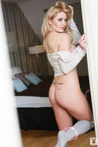 British Bombshell Vanessa Jay Amazing Bedtime Photo Set By Playboy 06
