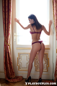 Milica In Burgundy Hottie 01