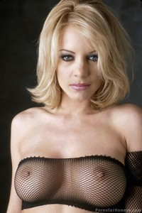 Nicoletta Blue In Fishnet Stockings 10