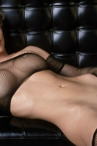 Nicoletta Blue In Fishnet Stockings 12