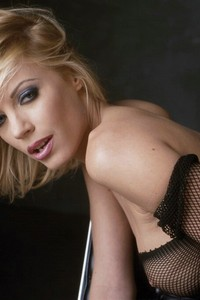 Nicoletta Blue In Fishnet Stockings 14