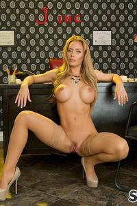 Nicole Aniston Stockings 11