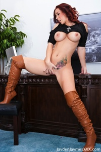 Jayden Jaymes Office Desk Fun 03