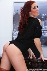 Jayden Jaymes Office Desk Fun 11
