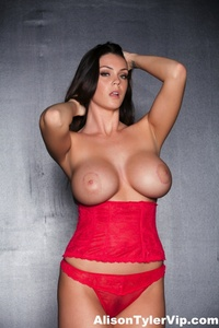 Alison Tyler Showing Off Her Huge Tits 05