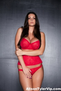 Alison Tyler Showing Off Her Huge Tits 10