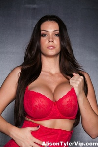 Alison Tyler Showing Off Her Huge Tits 11
