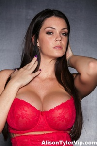 Alison Tyler Showing Off Her Huge Tits 12