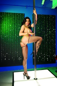 Romi Rain Pole Dancer 04