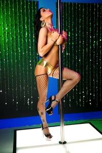 Romi Rain Pole Dancer 06