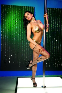 Romi Rain Pole Dancer 10
