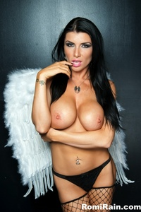 Romi Rain Black Haired Angel 04