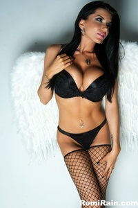 Romi Rain Black Haired Angel 11