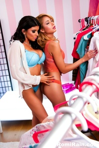 Romi Rain Play Time In The Dressing Room 13