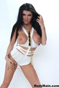 Romi Rain In Sexy White 12