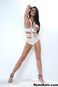Romi Rain In Sexy White 14