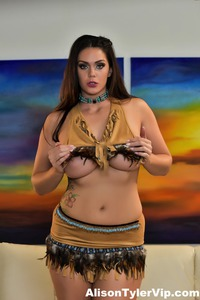 Busty Milf Alison Tyler Shows Her Chubby Body 10