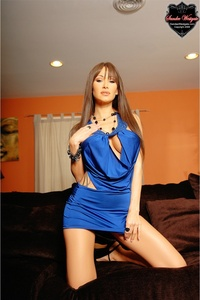Sandee Blue Dress 00