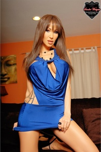 Sandee Blue Dress 01