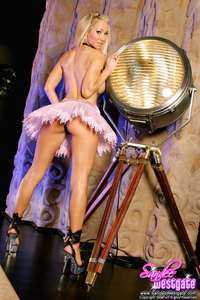 Sandee Westgate Fluffy Skirt 02