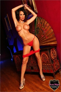 Sandee Westgate Sexy In Red 04