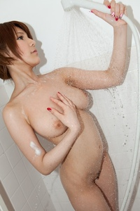 Rina Aizawa Shows Her Naked Tits 15
