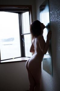 Nude Asian Babe Rina Kato Sexy Closeup 07