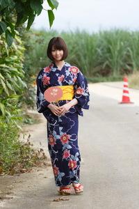 Mayu Kamiya Kimono 07