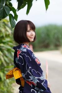Mayu Kamiya Kimono 08