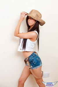 Little Cow Girl Costume  02