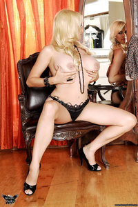 Stormy Daniels Strips In Front Of The Mirror 01
