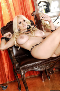 Stormy Daniels Strips In Front Of The Mirror 06