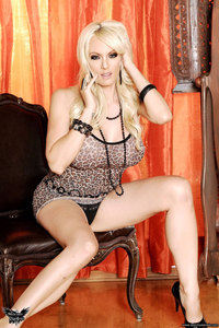 Stormy Daniels Strips In Front Of The Mirror 09