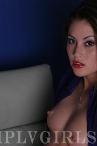 Jassie Posing In Blue 02