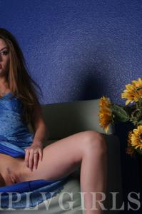 Jassie Posing In Blue 12