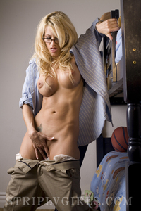 Busty Jessica Drake Sexy In Her Glasses 03