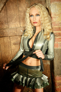 Adorable Latex Babe Monique Vegas 06