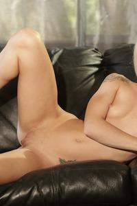 Slim Blonde Hottie Elsa Jean Strips On A Couch 13