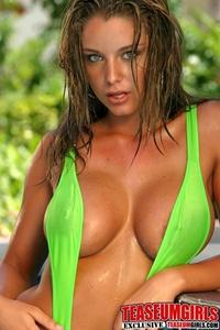 Ashley In Sling Bikini 15