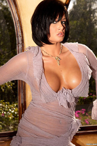 Tory Lane Busts Out Of Her Sexy Dress 01