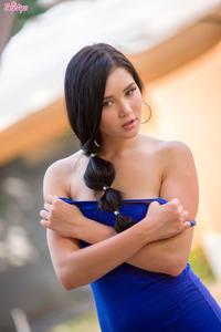 Malena Sexy Blue Dress 02