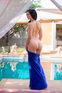 Malena Sexy Blue Dress 08
