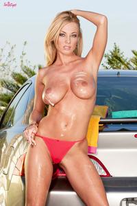 Anita Dark   In Sexy Car Wash  06
