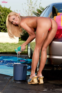 Anita Dark   In Sexy Car Wash  07